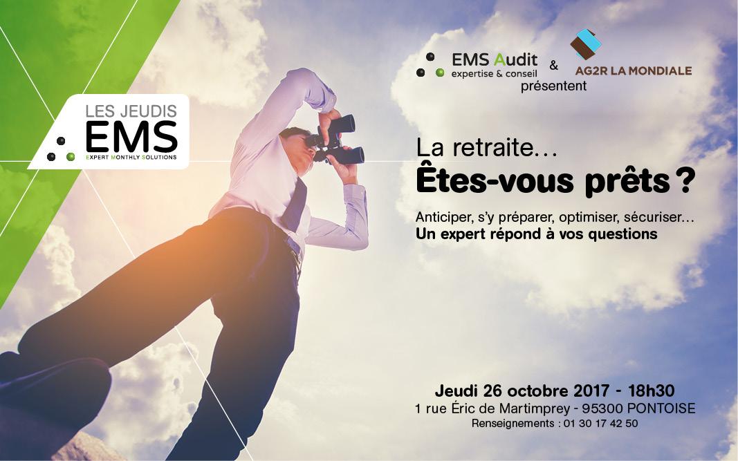 les jeudis EMS - La retraite